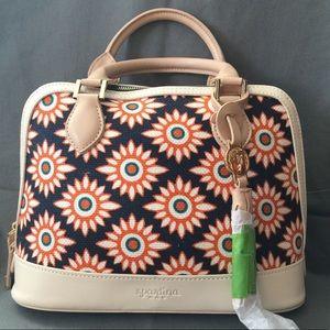 BNWOT Spartina 449 Handbag - Tybee, Cream leather